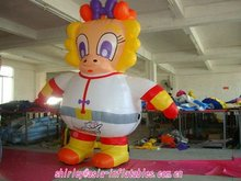 Happy duck inflatable cartoon/inflatable advertising cartoon