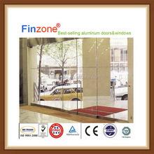 High quality useful frameless sliding folding door