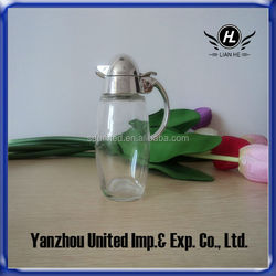 High Quality 180ml Clear Glass Cruet Wholesale
