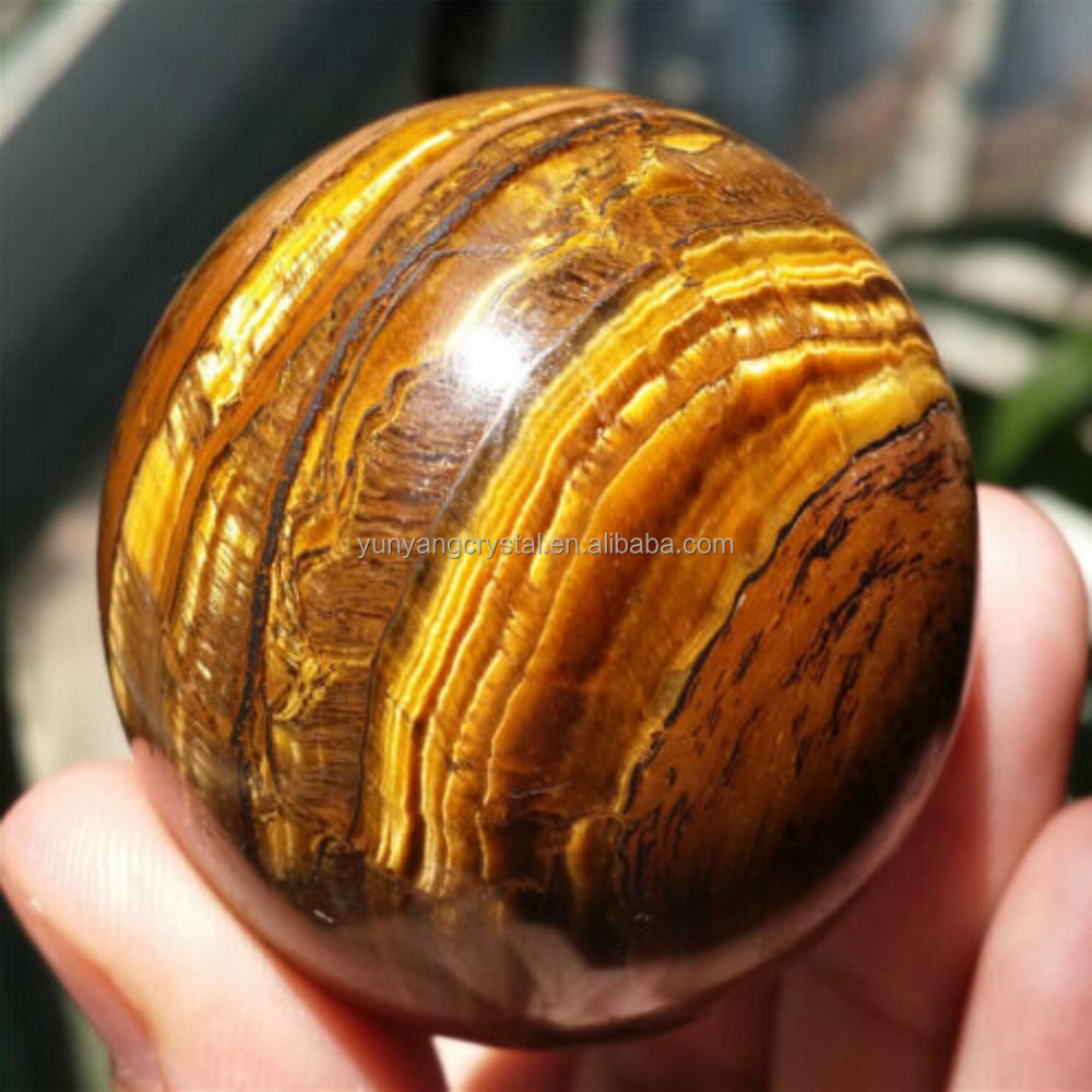 Wholesale cheap small decorative tiger eye crystal glass