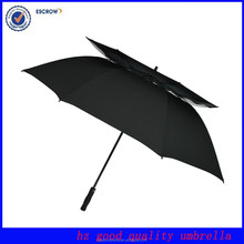 Shenzhen Elegance fan uv protection golf umbrella nylon double