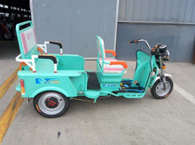 48V/500W battery operated trike with 2 passenger seats for sale