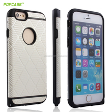 2in1 PC+TPU hybrid protector cover for iphone case 6 plus