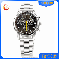 2015 aliexpress all stainless steel watch