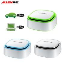 2015 new design mini car air ionizer