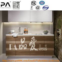 Top Level Cherry Solid Wood Hotel Kitchen Cupboard