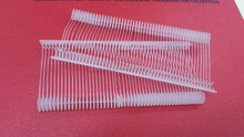 OEM Design Factory safety white plastic tag pin