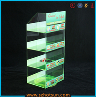 plexiglass display stand for mobile accessories