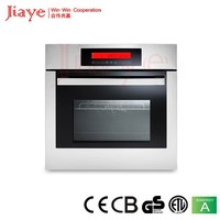 11 functions black glass and stainless steel baking equipment electric oven JY-OE60T8