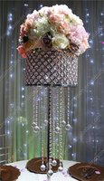 Dazzling Crystal Acrylic Luxurious Wedding Chandelier Table Centerpieces decoration