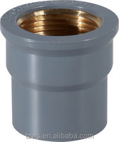 plastic fittings water supply pvc flexible hose coupling with brass