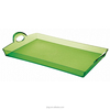 colorful plexiglass non-slip fruits trays designer food serving trays