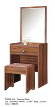 Makeup Dresser / Dressing Table Design With Mirror Wood Bedroom Furniture