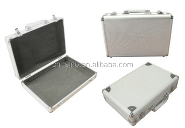 Aluminum cases with foam