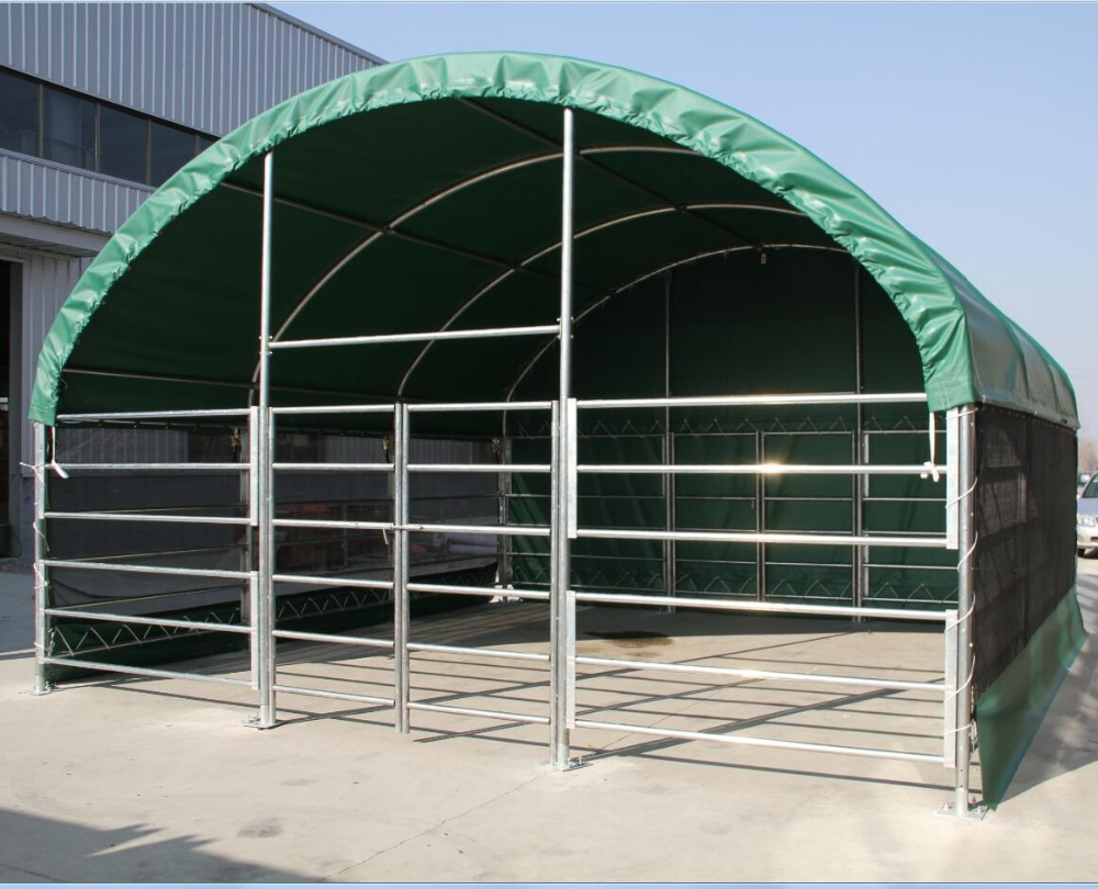 Portable Shelters Metal Frame : Steel frame mobile animal home view xinli