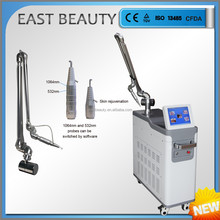 nd yag laser different color tattoo removal active q-switch laser