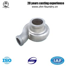 Pump Body CF8 Stainless Steel Lost Wax Casting Part Max Weight 80kg Impeller Silica Sol