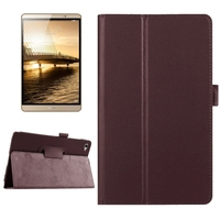 China Supplier 2 Folding Flip Smart leather case for Huawei MediaPad M2 tablet case