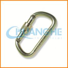 Fashion High Quality aluminum alloy carabiner supplier