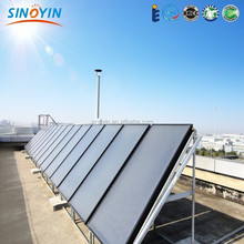solar companies in China, flat panel solar heating water collector with SRCC,SOLAR KEY-MARK certificate