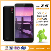 New popular China brand android 4.2 3g gps 5.0 inch mobile phone
