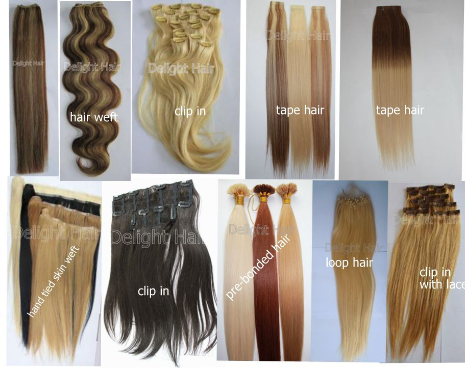 In Stock Remy Human Hair Ombre Double Sided Tape Hair Extensions