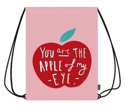 Best Selling Cute Cartoon Drawstring Bag With Front Zipper Pocket