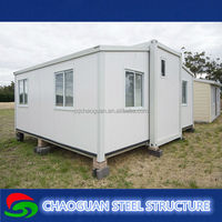 Stable and earthquake resistance luxury fiberglass sandwich panel modular house