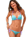 2015 nuevos productos delgada mostrar nifty sexy bikini de fisión