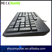 Good quality best price desktop wired USB PS2 standard computer keyboard for import