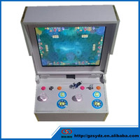 Eletronic 17 inch 2 players fishing game machine ocean star