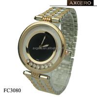Fashion luxury lady watch with diamonds