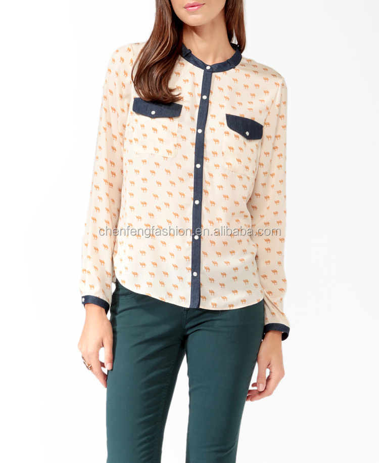 Innovative Women39S Blouse Types  Long Blouse With Pants