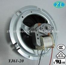 Micro- horno de onda del motor del ventilador del motor airfryer: motor sombreado del poste con el soporte de la pierna