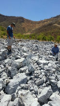 lumpy chrome ore