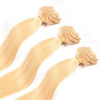 "Brazilian Hair Clip in Remy Virgin Clip in Human Hair Extensions Brazilian Clip on Hair Extensions Natural Hair 20"" 200gram"