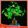 Laranja decoração bonsai Festival levou árvore