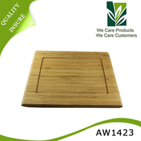 vegetable and fruit bamboo cutting board