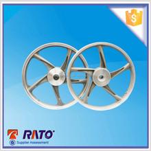 Five streches motorcycle aluminum alloy wheel rim hub, front disc:1.4-17, rear wheel 1.4, 1.6-17