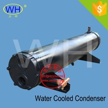 70KW WN series boat engine heat exchanger, sea water cooled shell and tube condenser