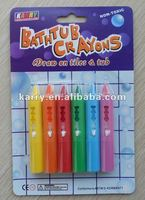 brand new 6-pack bathroom crayon