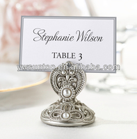 2014 Jeweled Place Card Holders high quality wedding favors
