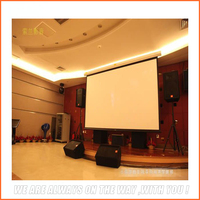 Remote Control Projection Screen /Home Cinema Electric Projection Screen