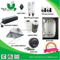 greenhouse hydroponic system grow light kit/electronic ballast t5 55w