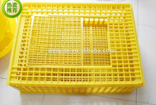 Cheap Plastic poultry transport cage, chicken transport cage high quality