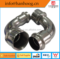 New Product Steel Fittings /90 Degree Female Thread Seated Elbow