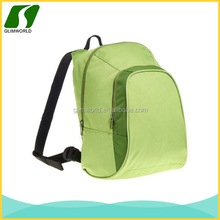 2015 china manufactures BSCI certification wholesale green cheap canvas waterproof backpack