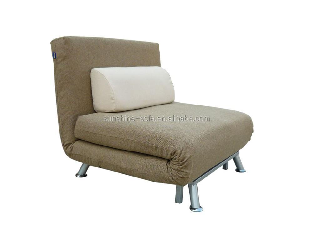 Metal Frame Folding Single Sofa Bed Chair Buy Metal