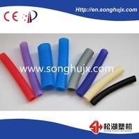 2015 advanced PP, PE, PVC Corrugated Pipe Extrusion making machine