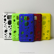 PC+TPU Gel Bubbles Back Case Cover for Samsung GALAXY S2 I9100 Smartphone